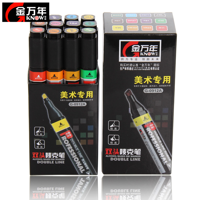 Jin Wannian Mark art drawing pen ink imported double Mike pen POP advertising poster marker<br>