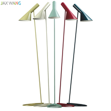 JW Modern Minimalist Color Floor Lamp Iron Stand Lights for Living Room Bedroom Study Reading Home Lighting Fixtures Decoration(China)