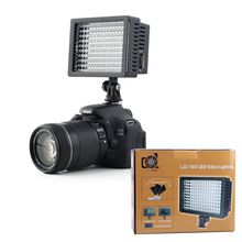 160 LED Video Light Lamp 1280LM 5600K/3200K Dimmable 3 Filters Canon Nikon Pentax Camera DV Camcorder Ligthing - ilovephoto Store store