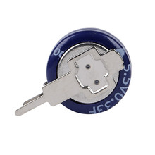 Super capacitor button capacitor 0.33F 5.5V currency super capacitor smart meter meter gas meter V type(China)