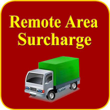 Remote Area Delivery Additional Shipping Cost for Express Companies Such As DHL Fedex(China)