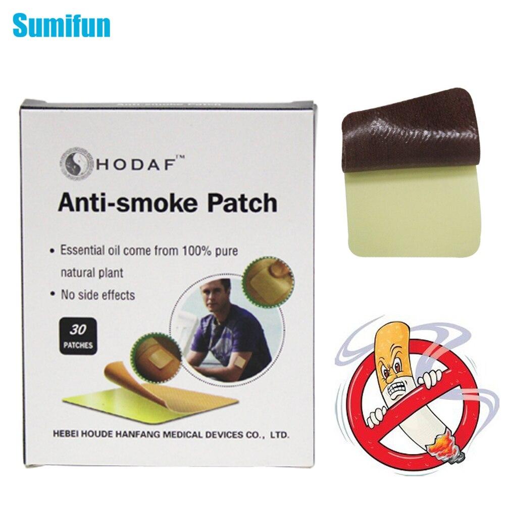 30pcs/box Sumifun 100% Natural Ingredient Stop Smoking &amp;Anti Smoke Patch for Smoking Cessation Patch to Give Up Smoking C744<br><br>Aliexpress
