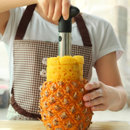 Hot-Selling-Creative-Stainless-Steel-Fruit-Pineapple-Corer-Slicers-Peeler-Parer-Cutter-Kitchen-Tool