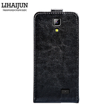 LIHAIJUN High Quality Pu Leather Flip Case For Nomi i503 Jump Case Cover 5 Colors