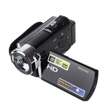 Full HD 1080P Video Camcorder with 3'' TFT LCD 16X ZOOM HDV-604S 20MP Digital Video Camera DV DVR Mini Camcorder(China)