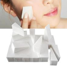 Independent Packaging Double-sided Small Trapezoidal 20-piece Natural Sponge Puffs Make-up Tools Studio Dedicated Puff