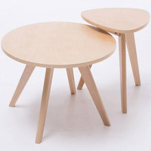 60cm circular table,100% wood tea table,Leisure coffee table,Dining table wood furniture,living room furniture,(China)