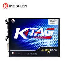 KTAG V2.13 FW V6.070 No Token Limited ECU Programming Tool Master Version KTAG K-TAG V2 Chip Tuning kit Free Shipping(China)