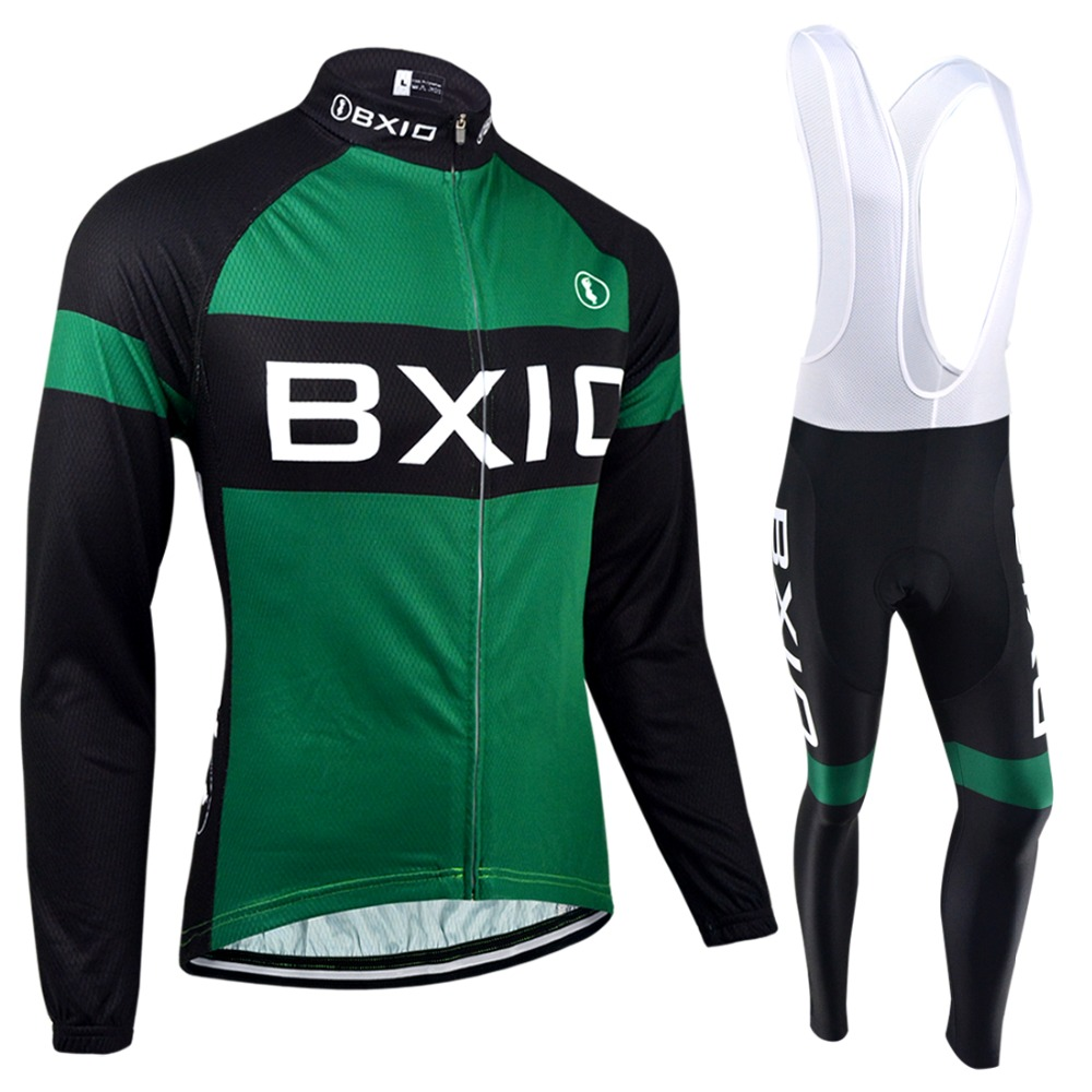 BXIO Winter Cycling Jersey Top Rate Seamless Stitching Long Sleeves Thermal Fleece Bicycle Clothing 5D Pad Maillot Ciclismo 133<br><br>Aliexpress