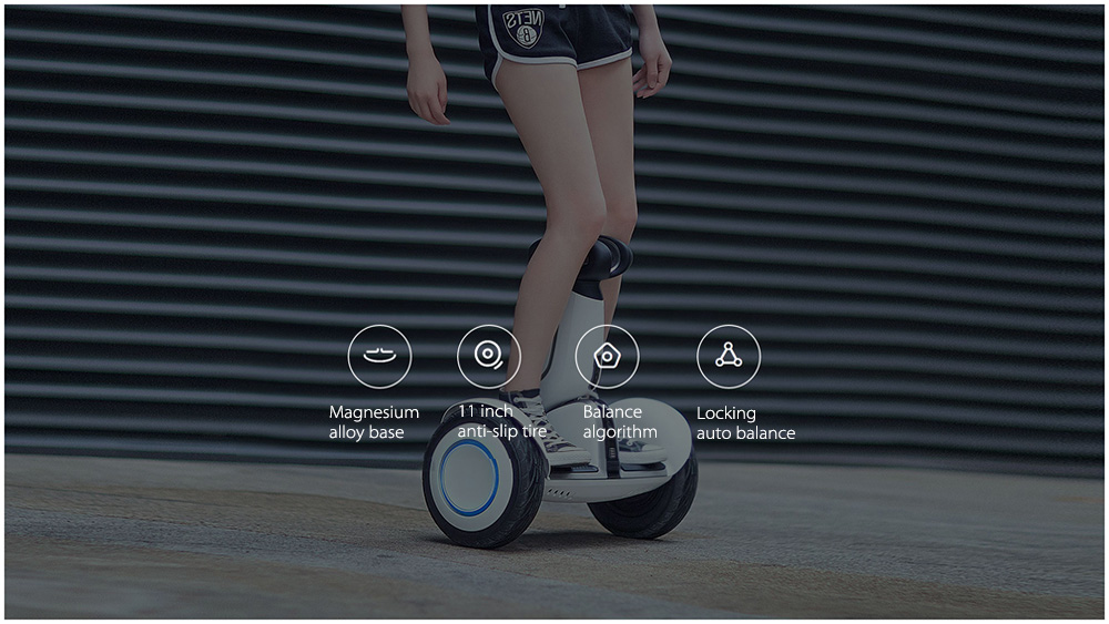 Original 2pcs Ninebot Xiaomi Ninebot Plus Electric 11 inch Self Balancing Scooter ocean shipping to Israel