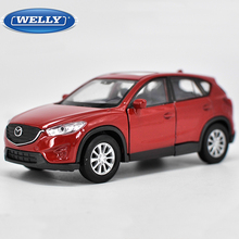 High simulation New 1:36 Mazda CX-5 Alloy Car Model Metal Diecasts Toy Vehicles With Pull Back For Kids Toy Gifts Free Shipping(China)