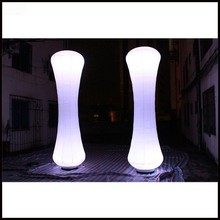 Free shipment 3m height Favorites Compare Party LED Light Columns/Top-Grade Event Inflatable Pillars