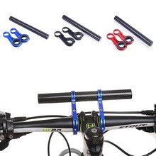 2 Frames 20CM Carbon Fibre Bike Bicycle HandleBar Bracket Holder Extender Mount