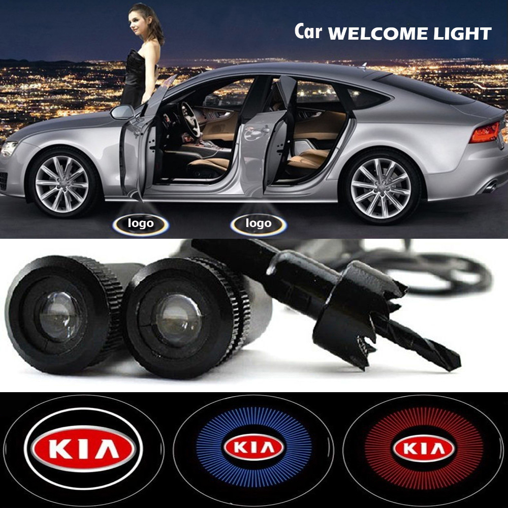 2 x Car Door Light Laser Welcome Ghost Shadow Projector Logo Light For Kia Rio Ceed Sportage 2014 Soul Cerato K2 k3 k5<br><br>Aliexpress