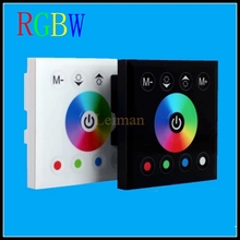 Fashion DC 12V 24V Wireless LED Controler RF Touch Panel LED Dimmer Remote Control For Mi light RGBW RGBWW Bulb Light