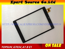 A+ New for CHUWI V88 Quad Core RK3188 touch pad ,Tablet PC touch panel digitizer TOPSUN_G7034_A1 / HY 51042(China)