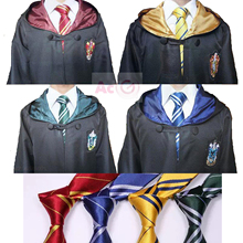 High Quality Harry Potter Robe Gryffindor Cosplay Costume Kids Adult Robe cloak 4 styles Halloween Gift  11 SIZE