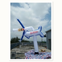 Promtion One Tube Cartoon Air Dancer One Legs Sky Dancer Inflatable Tube Man For Advertising Items