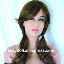 New 47# HEAD TPE silicone sex doll Head, oral European face realistic female sex doll HEAD for 140cm-170cm body Hot sale