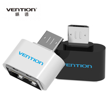 VENTION Micro USB To USB OTG Adapter For Android mobile phone Samsung HTC LG Sony Meizu Nokia Tablet Pc connect to Flash Mouse
