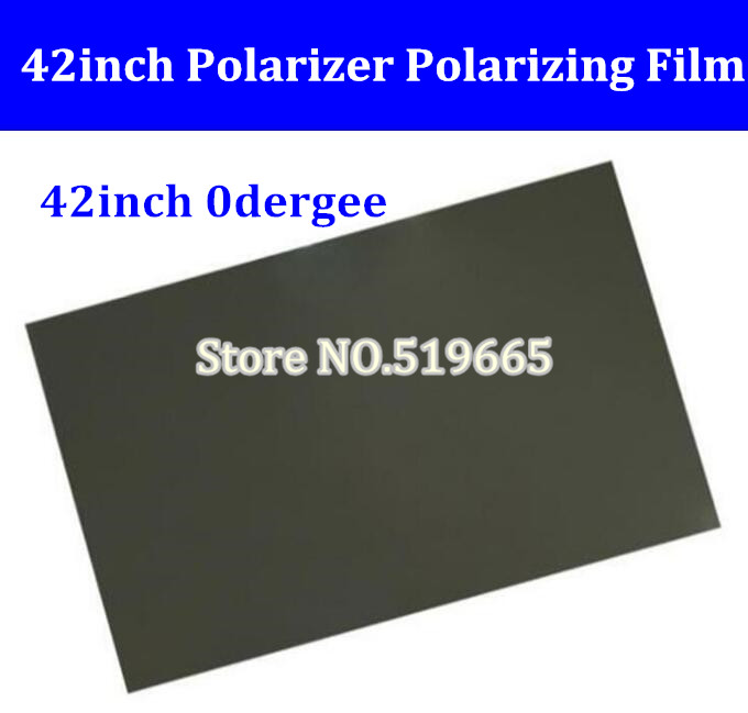 42inch 42 inch 0degree LCD LED polarizer film for lcd led TV front film<br>
