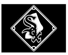 Chicago White Sox Baseball Team flag 3ftx5ft Banner 100D Polyester Customized Flag White Sleeve with 2 Metal Grommets Banners
