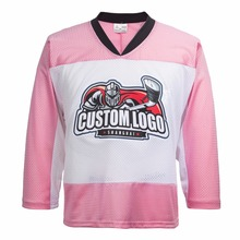 DHL free shipping synthetic embroidery ice hockey jerseys wholesale custom jerseys P039(China)