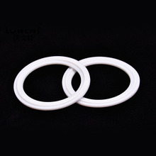 2x Chuck Washer Quick Coupling Gasket Hose Clamp Mat Pipe Fasterner Sealing Pad PTFE Teflon Cushion Food Grade Dia.12.7~219mm(China)
