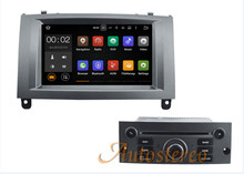 32G ROM 2GB RAM Android 6.0 Car Radio Head Unit For Peugeot 407 2004-2010  Bluetooth Auto DVR 3G DVD Player GPS Navigation