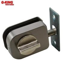 Not a single punch internal control type glass door lock bolt lock lock bolt glass bathroom glass rod 107B