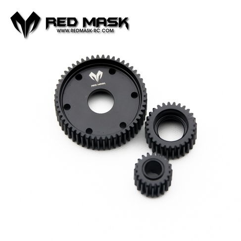 RM SCX 10 D FULL Metal Hydraulic transmission box wheel gear Wave Box Gear Replace AX 80010 R 4003<br>