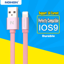 Original NOHON 8 Pin USB Cable For Apple iPhone 6 6S Plus 5 5S SE iPad 4 Air 2 USB Fast Charging Data Sync Cable(China)