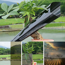 discount 50cm300cm Different Colors High Quality New Arriving Black Solar Tint Building glass Solar window film tint(China)