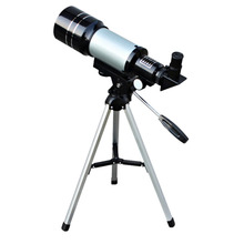 1pc Monocular Professional Space Astronomical Sliver Telescope with Tripod Barlow Lens Eyepiece Moon FilterTripod Refractor NEW