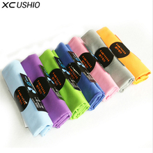 XC USHIO One Piece Microfiber 35*80cm Quick Dry Sports Towel Outdoor Camping Travel Gym Yoga Running Face Fairy Cool Towel