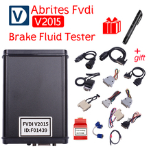 Car-Styling Diagnostic Scanner 2015 FVDI ABRITES Commander With 18 Software In Auto Diagnostic Tool 2014 Version Free shipping(China)