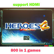 800 in 1 games Heroes of the stom 4 HD Jamma Multigame PCB board VGA / CGA output for CRT / LCD Arcade Game Cabin