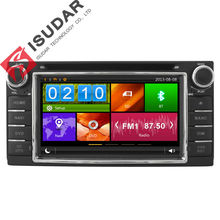 Two Din 6.2 Inch Car DVD Player For Toyota/Corolla/Terios/Altis/RAV4 With GPS Navigation Radio FM/AM RDS BT 1080P Ipod Free Maps