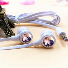 Anime Sword Art Online Kirigaya Kazuto In-ear Earphone 3.5mm Stereo Earbuds Microphone Phone Headset for Iphone Samsung MP3 Gift(China)
