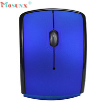 Mosunx Advanced mouse  2.4G Wireless gaming mouse Foldable Folding Arc Optical Mouse for Microsoft Laptop Notebook 2017 hot 1PC