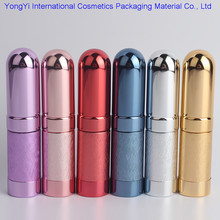 YJ-14 Top Quality 100pcs 6ml Refillable Portable Mini Perfume Bottle&Traveler Aluminum Spray Atomizer Empty Parfum Bottle