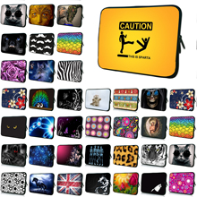 "Netbook Mini PC 10"" Tablet 10.1 12 13 13.3 14 15 15.6 17"" Notebook Neoprene Inner Cases Laptops Fashion Protect Pouch Cover Bag(China)"