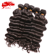"Free shipping virgin malaysian hair whole sale, bouncy wave (14"" to 22"" in stock ),10ps lot free shipping"