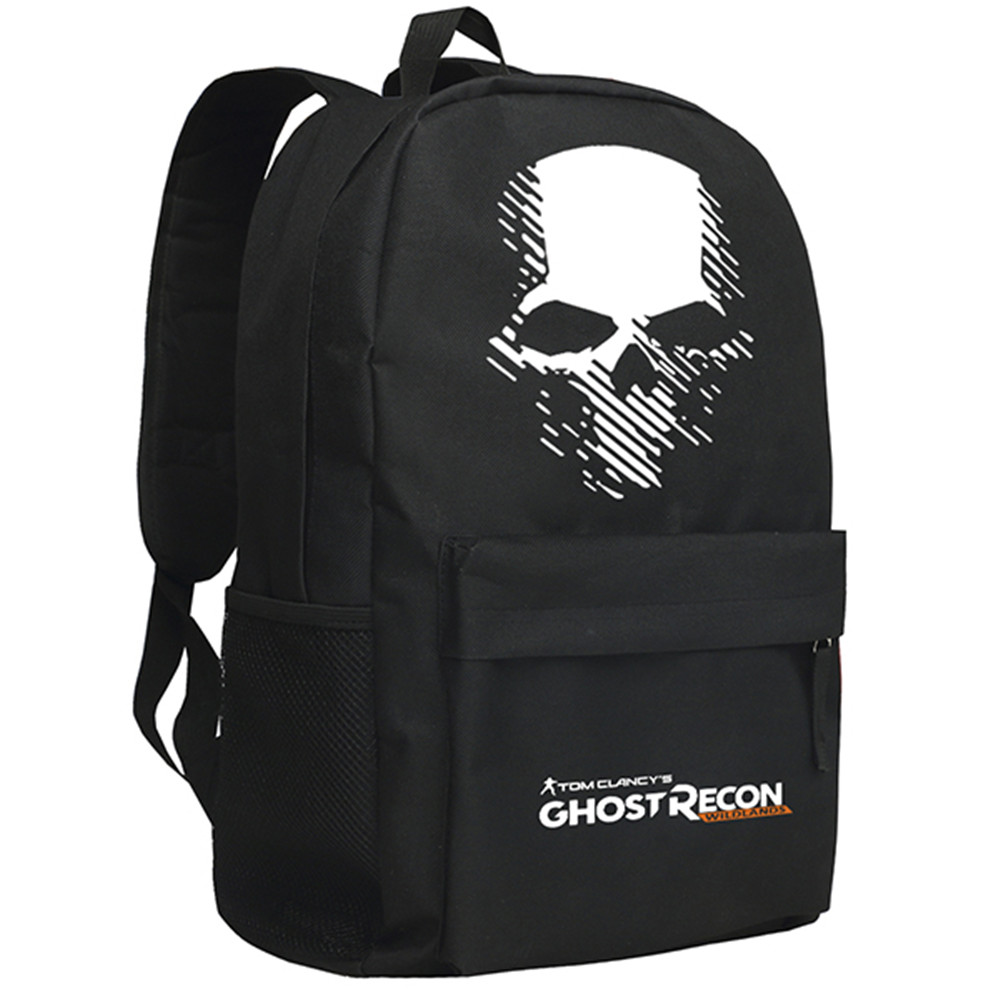 Zshop Tom Clancys Ghost Recon Wildlands Backpack PCPS4 Shoulder Bag for Teenagers Men Daypack<br>