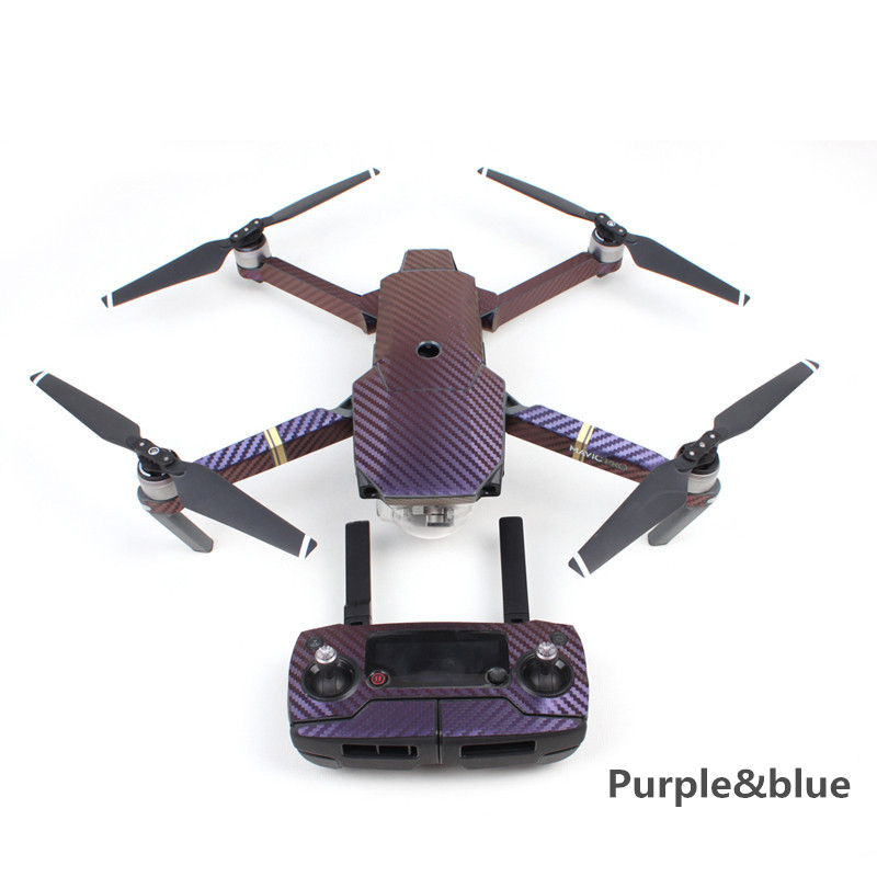 Impermeable Tiburón Pegatina Fuselaje Sticker Para DJI Mavic Pro RC Drone SG