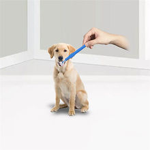 3 Sided Pet Cat Dog Soft Toothbrush Brush Dental Teeth Cleaning Health Care Dog Accessories(China)