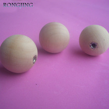 20x Wooden Kitchen Cabinet Drawer Knobs Ball Cupboard Handles Closet Cabinet Bars Round Bedroom Furniture Solid Wood Pulls 30mm