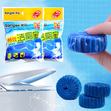 Automatic Toilet Bowl Cleaner Deodorizes Closestool Blue Defender