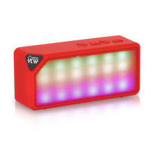 YCYY Hot X3S Box Mini LED Lights Wireless Stereo Bluetooth Speaker TF FM Radio Built in Mic MP3 Virtual Surround For Smartphone