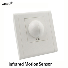 ZINUO 220V~240V Microwave Radar Infrared Body Motion Sensor Detector Light Switch Auto Ceiling Mounted For LED Lamps(China)